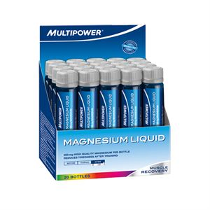 Multipower Magnezyum Likit 20 Ampul