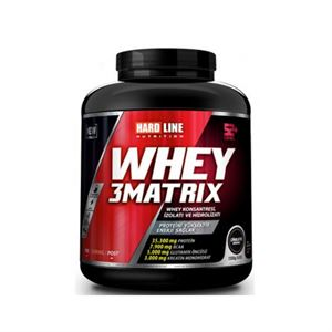 HardLine Whey 3 Matrix 2300 Gram