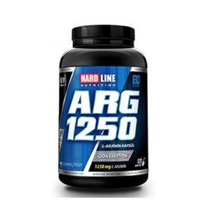 Hardline ARG 1250 Arginine 120 Kapsül