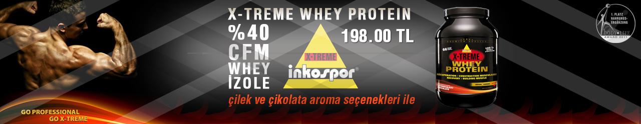 inkospor x-treme whey protein 2000 gr