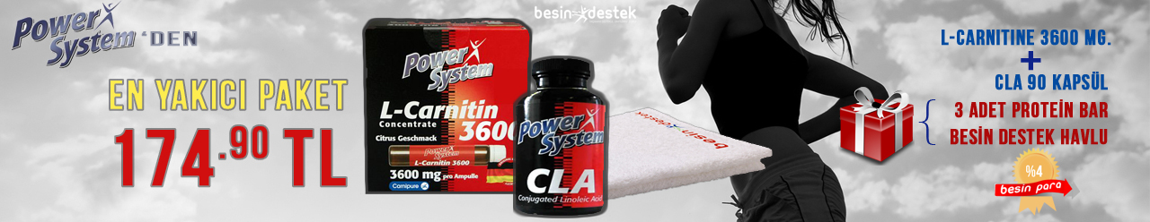 Power System L-Carnitine + Cla