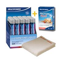 Multipower L-Carnitine Likit & Protein Müsli Hediyeli