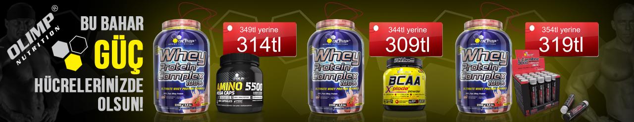 Olimp Whey Protein, Amino, BCAA, L-Carnitine