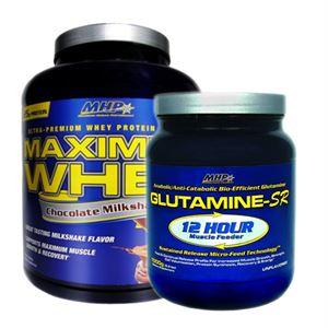 MHP Maximum Whey 2262 Gr + Mhp Glutamine-Sr 1000 Gr Paketi