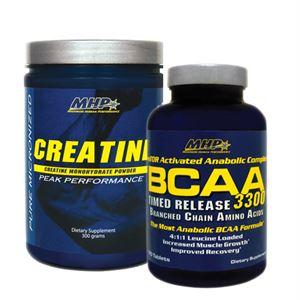MHP BCAA 3300 120 Tablet ve Creatine Monohydrate 300 Gr. İkili Paketi