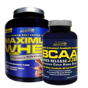 MHP Maximum Whey 2262 Gr + MHP BCAA 3300 120 Tablet