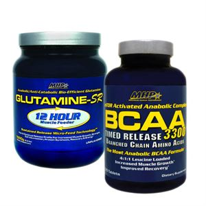 MHP BCAA 3300 120 Tablet + MHP Glutamine - SR 1000 Gr. Kampanya Paketi