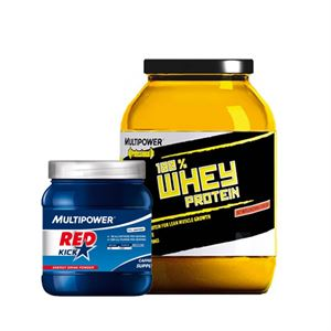 Multipower Professional Whey Protein + Red Kick Kampanyası