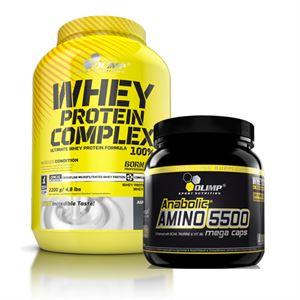 Olimp Whey Protein + Anabolic Amino 5500