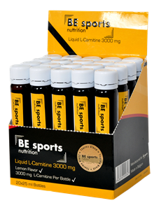 BE Sports L-Carnitine 3000 mg 20 Ampül