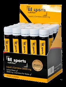 BE Sports L-Carnitine 3000 mg 20 Ampül