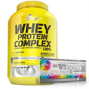 Olimp Whey Protein Complex 2200 Gr + Olimp Vita-Min Multiple Sport 60 Kapsül