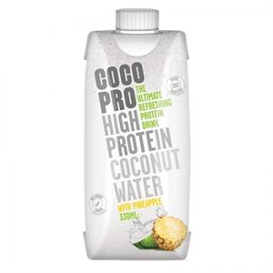 Coco Pro High Protein Coconut Water 8x330 Ml