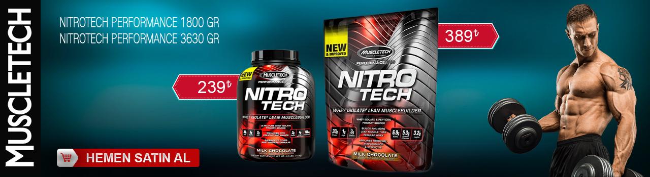 MuscleTech Nitrotech Performance 3630 Gram 1800 Gram