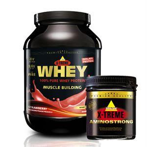 Inkospor X-Treme Whey Protein 2000 Gr + Inkospor Amino Strong 240 Tablet