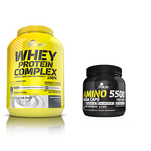 Olimp Whey Protein + Amino 5500 Kampanyasi