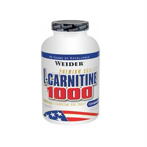 Weider L-Carnitine 1000 MG. 60 Tablet Limonlu