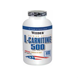 Weider L-Carnitine Likit 500 MG. 60 Tablet Limonlu