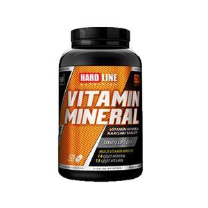 Hardline Vitamin Mineral 120 Kapsül