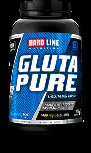 Hardline Glutapure Glutamine 120 Kapsül