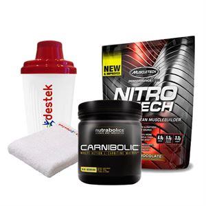 MuscleTech Nitrotech Performance + Nutrabolics Carnibolic Carnitine Complex Fırsatı