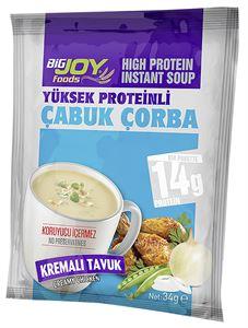 BİGJOY Proteinli Çabuk Çorba 24 Paket