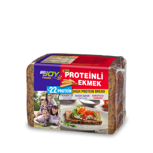 BİGJOY Proteinli Ekmek (250 Gr.)