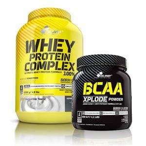 Olimp Whey Protein + BCAA Kampanyası