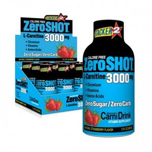 Zero Shot L-Carnitine 3000 MG 12 adet