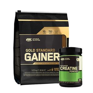 Optimum Gold Standart Gainer + Creatine Powder