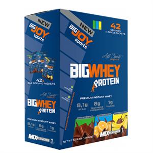 BİGJOY BigWhey Protein 42 Servis