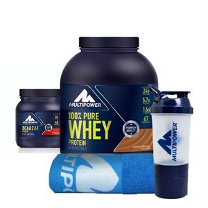 Multipower %100 Pure Whey Protein + BCAA Powder Kampanyası