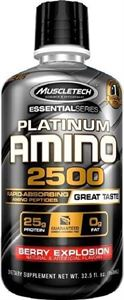 Muscletech Platinum Amino 2500 960 ML