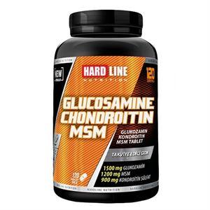 Hardline Glucosamine Chondroitin MSM 120 Tablet